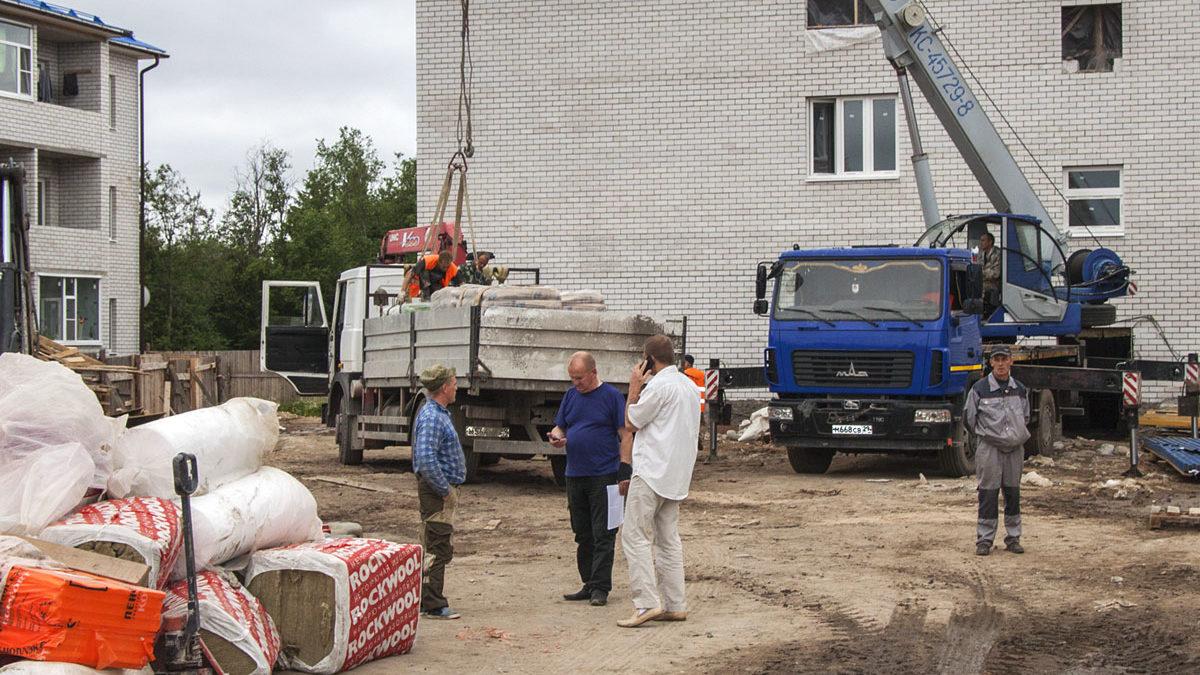 Коношский строительный бум