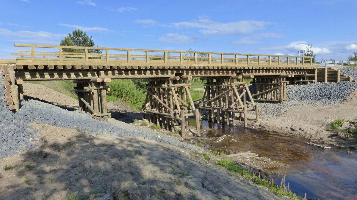 Мосты – это ключи к северным дорогам