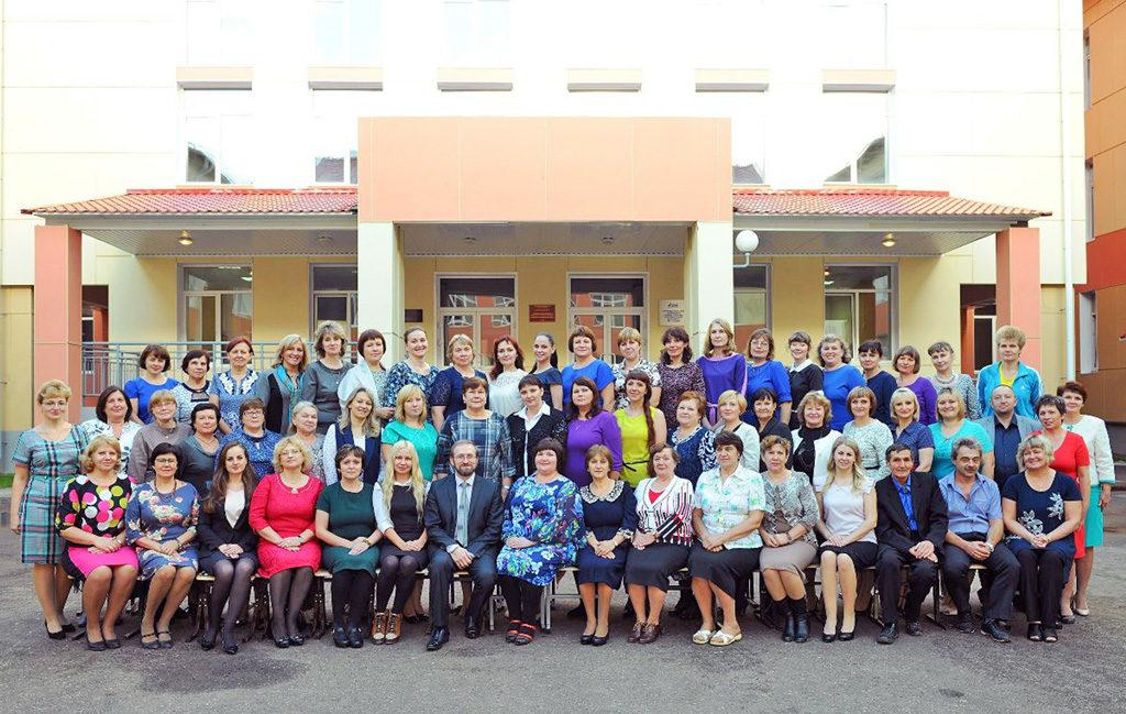 Коллектив учителей Урдомской средней школы