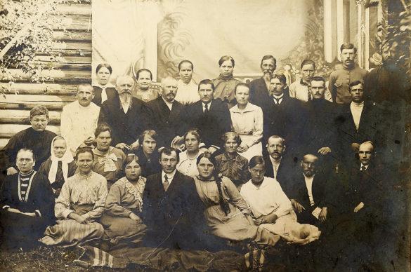 Коллектив Яренской земской больницы, 1911 год