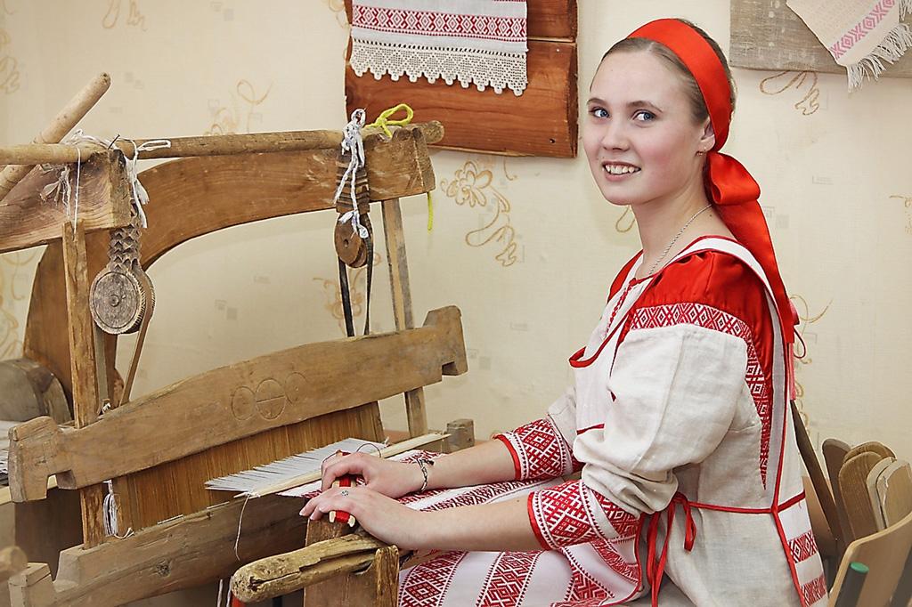 Ирина Чевыкалова, выпускница класса художественного ткачества 2016