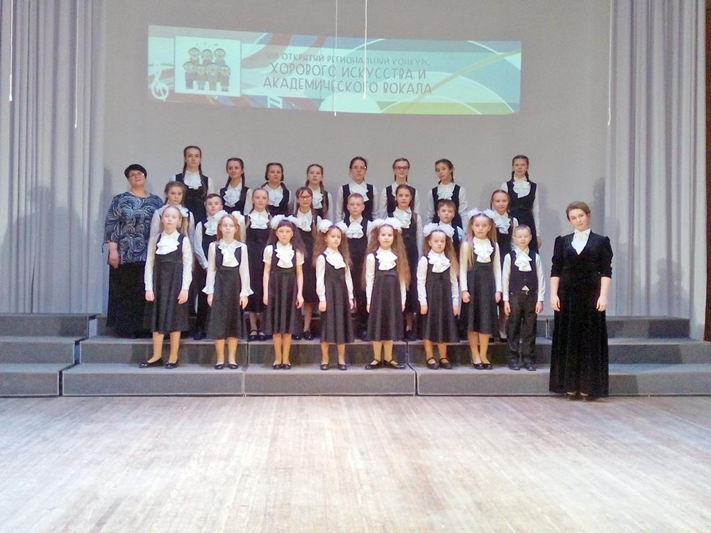 Хоровое отделение с преподавателем Ириной Суворовой