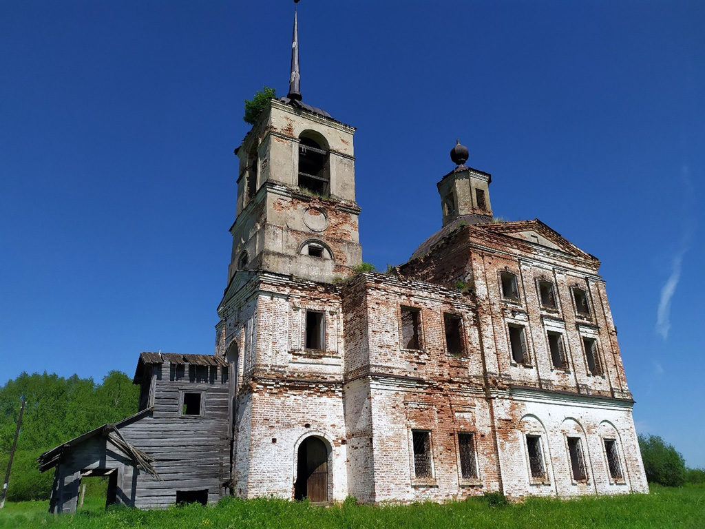 Преображенская церковь 1710года