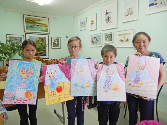 Юные художники Заполярья