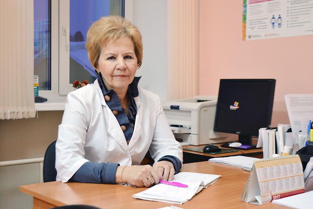 Медицинская сестра Тамара Александровна Долгобородова
