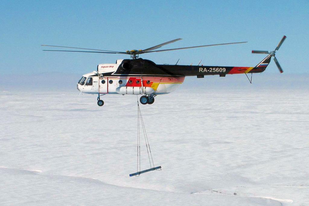 Нарьян-Марский объединенный авиаотряд делает ставку на проверенные модели и в 2019 году всоответствии с программой обновления парка воздушных судов планирует взять в лизинг вертолет Ми-8.
