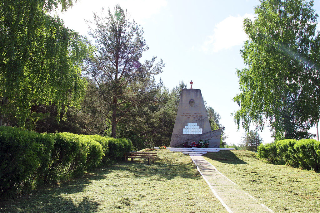 Решением ТОС рядом с обелиском землякам, погибшим в годы Великой Отечественной, будут размещены мемориальные плиты в память о тех, кто ушел из жизни уже после окончания войны
