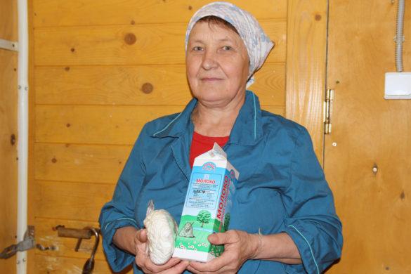 Цельное слободское молоко жители Вилегодского района очень ценят