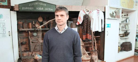 Денис Иванов, директор Яренского районного краеведческого музея