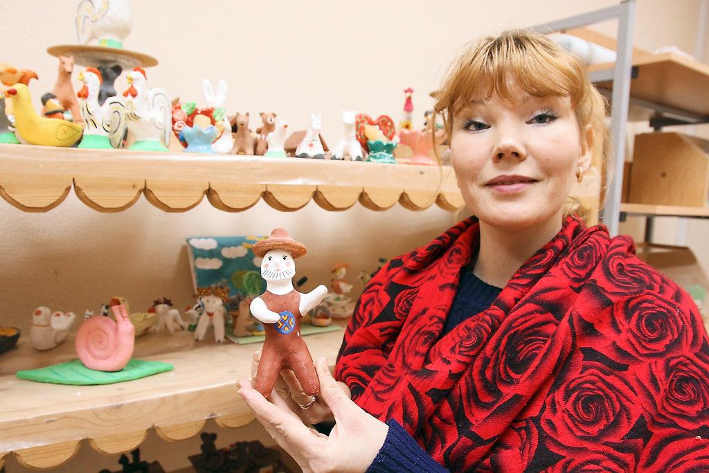 Ольга Вениаминовна Риутта, педагог дополнительного образования, объединение «Глиняная игрушка»