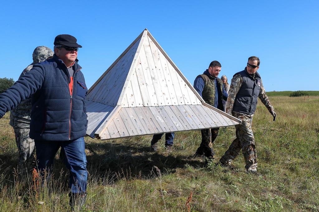 Волонтерский лагерь вПустозерске