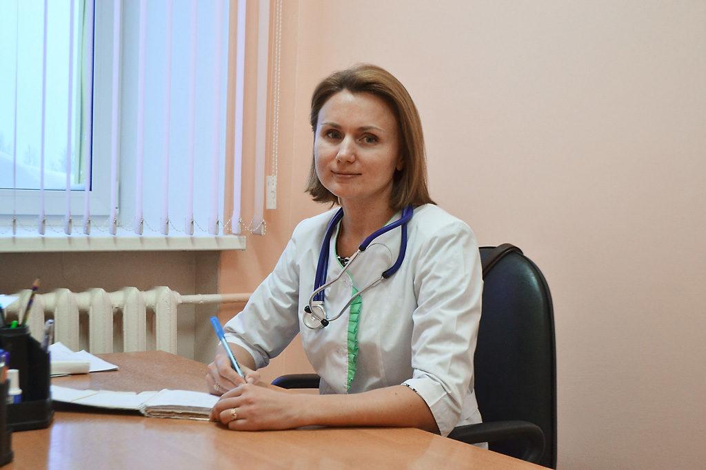 Врач общей практики Нина Васильевна Сухих