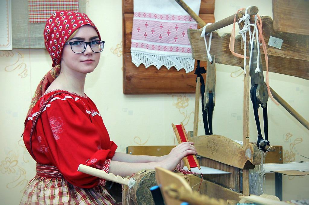 Татьяна Торопова, выпускница класса художественного ткачества 2016