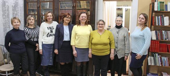 Коллектив Ленской межпоселенческой библиотеки