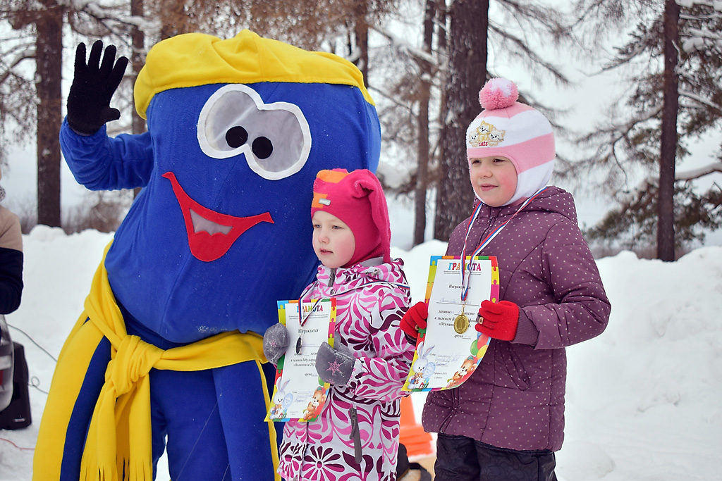 беби-марафон по лыжным гонкам «Осьминожка»