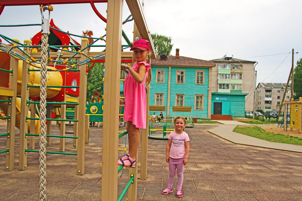 В парке «Росинка» весело гулять!