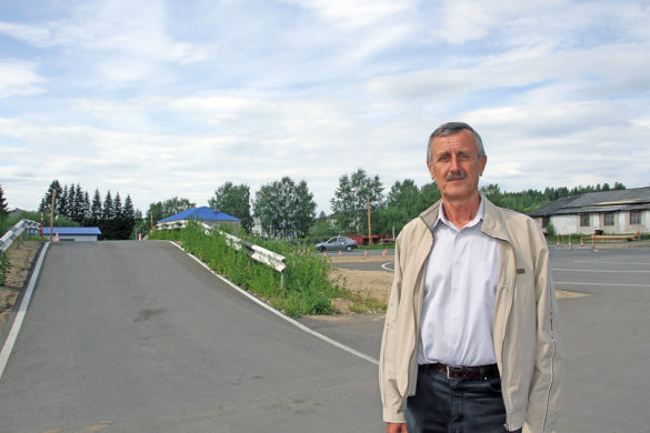 Глава структурного подразделения Владимир Редькин