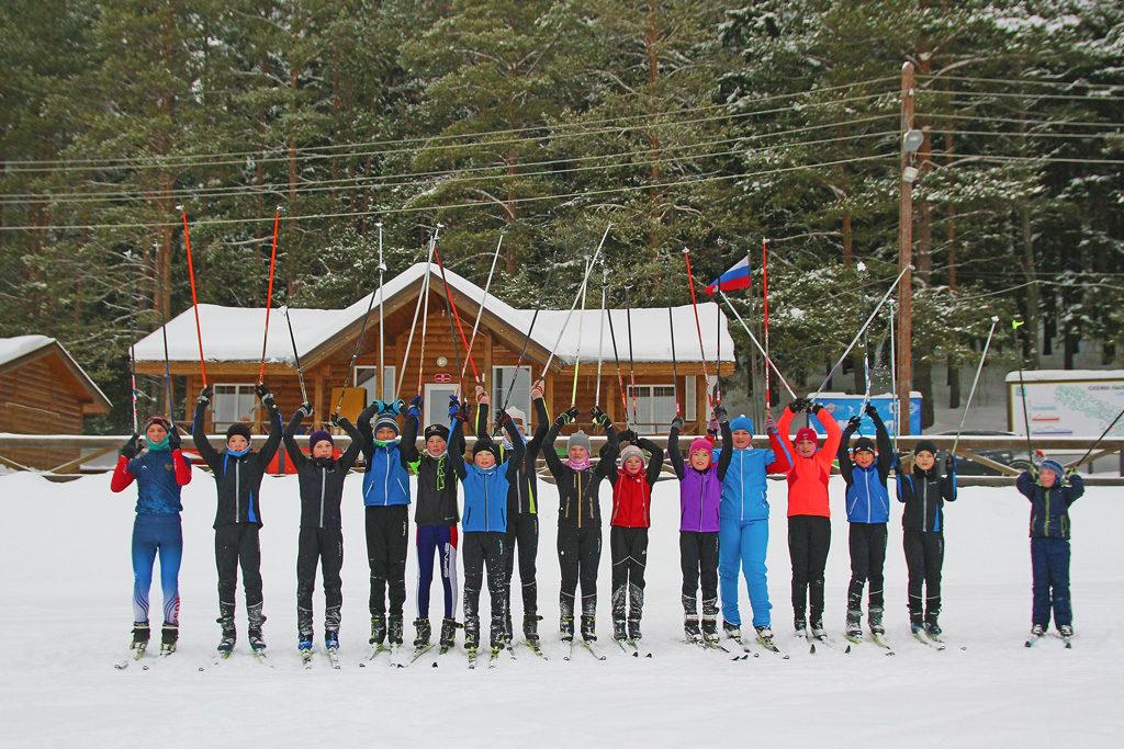 Лыжный спорт— самый массовый врайоне