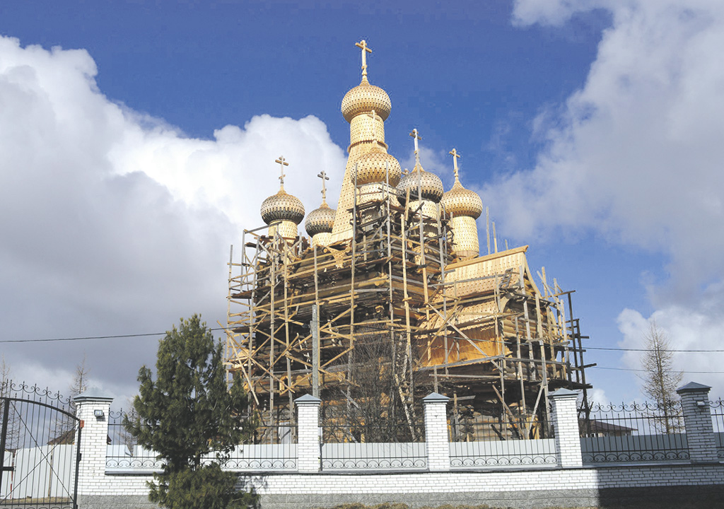 Сретенская церковь в Заостровье проходит этап масштабной реставрации