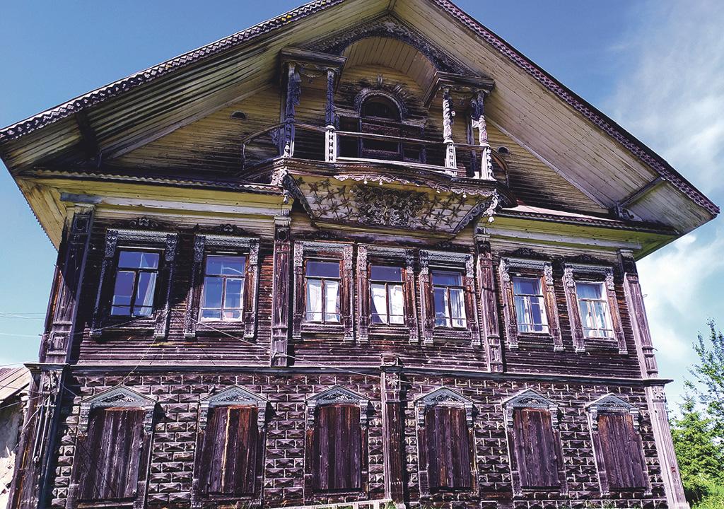 Старинные красноборские дома-великаны нужно сохранить