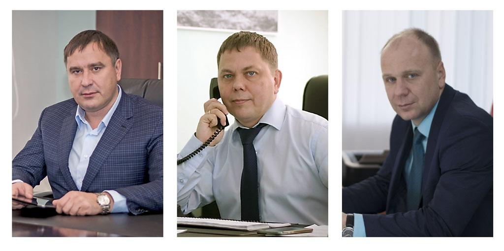Павел Верюжский, Директор поразвитию Дмитрий Гвоздев, Генеральный директор Алексей Луговской, Заместитель генерального директора покоммерческой работе