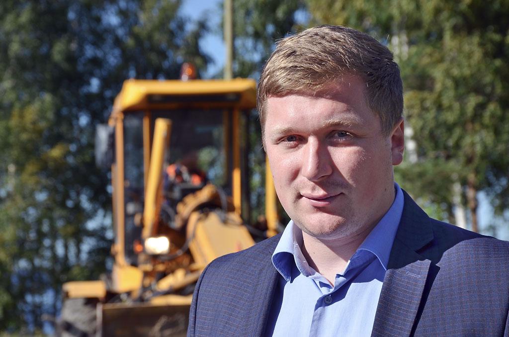 Федор Корнеев, главный инженер Плесецкого дорожного управления