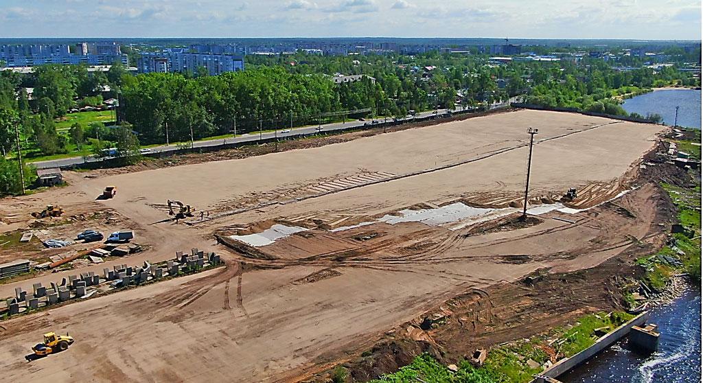 Летом 2019 года на территории будущего завода велись подготовительные работы