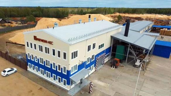 60 000 м³ сухой обрезной доски и 15 тысяч тонн пеллет — годовая производственная мощность завода в Шенкурске