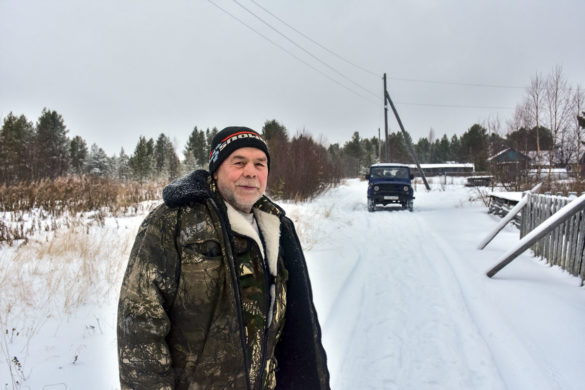 Иван Викторович Лебедев живет в Морозилке всю жизнь и уезжать не собирается