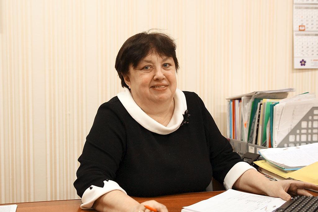 Главный бухгалтер Галина Елисеева