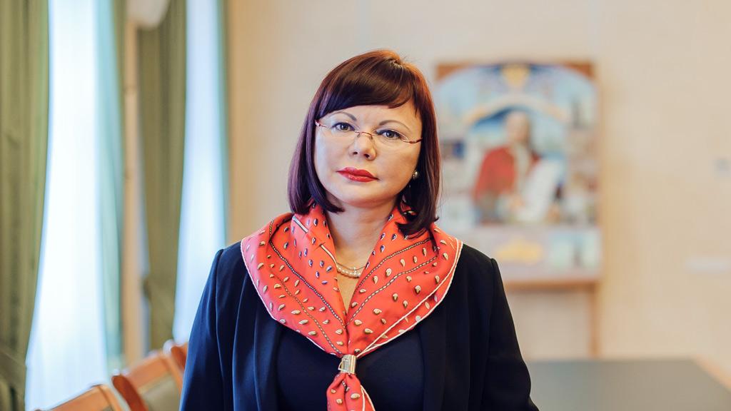 Елена Кудряшова, ректор САФУ