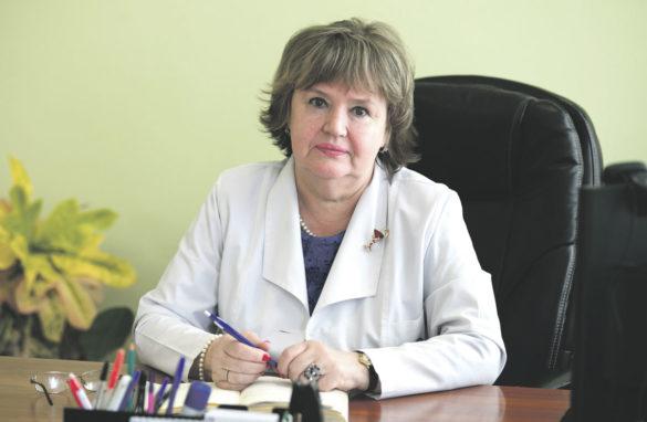 Ольга Лузанова, главный врач Архангельской городской клинической поликлиники №2