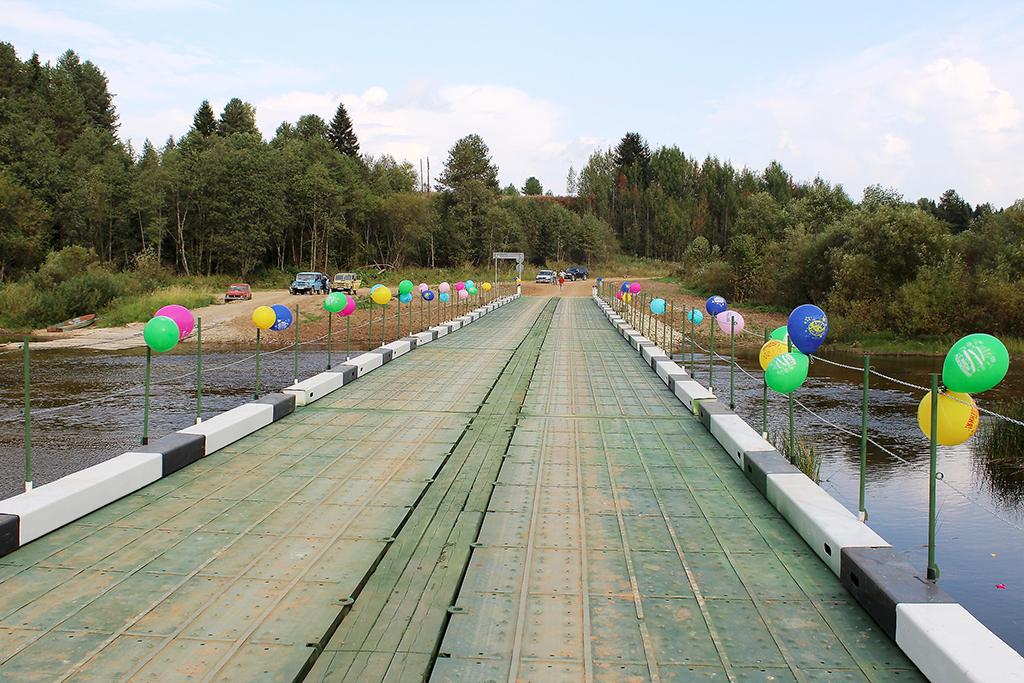 72 метра— длина уникального моста нареке Верхней Тойме