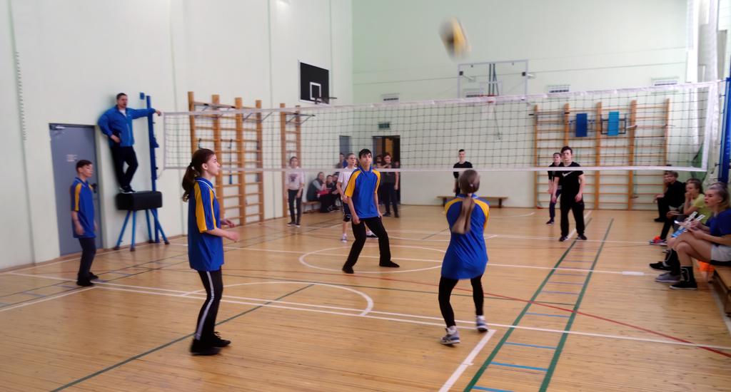 Гордость школы— современный спортзал