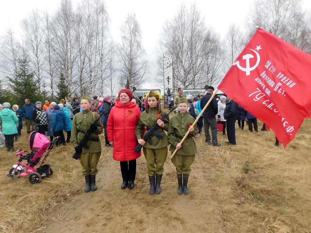 День Победы в Кондратовской. 2019 год