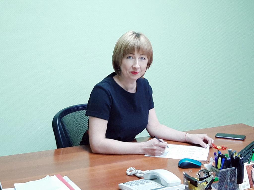 Юлия Назарьина, директор Верхнетоемского КЦСО