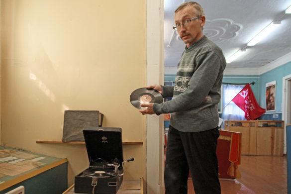 Александр Владимирович Шкрябин, заведующий музеем