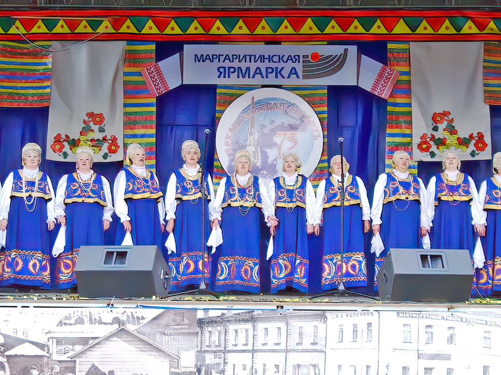 Верхнетоемский народный хор