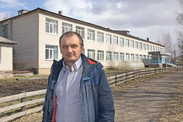 Николай Губин, директор Афанасьевской школы