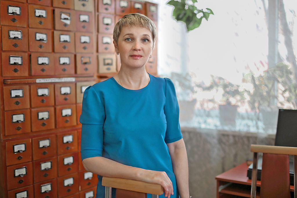 НинаВасильевна Комарова, директор Верхнетоемской библиотечной системы