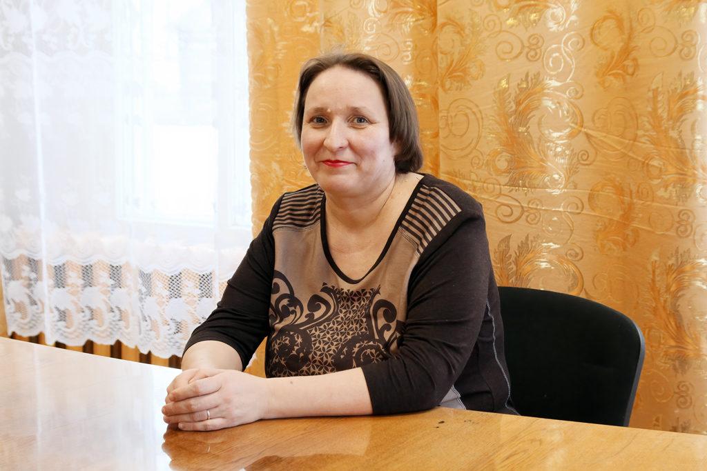Анна Докунина, глава МО«Выйское»