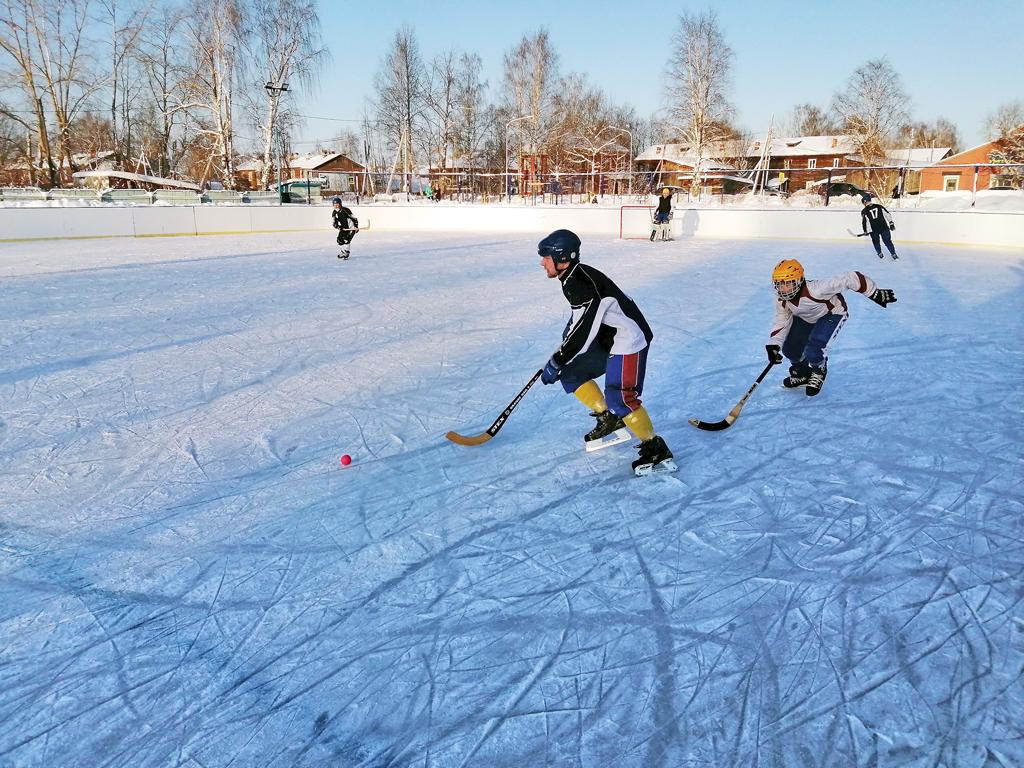 Спорт настоящих мальчишек