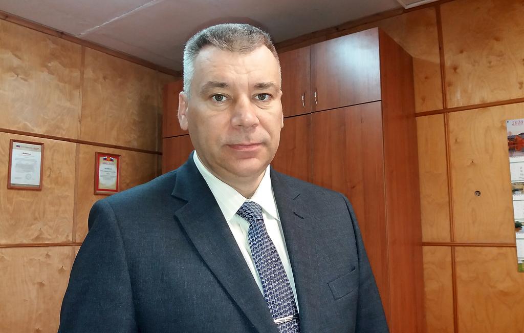 Александр Русанов, директор Верхнетоемской школы
