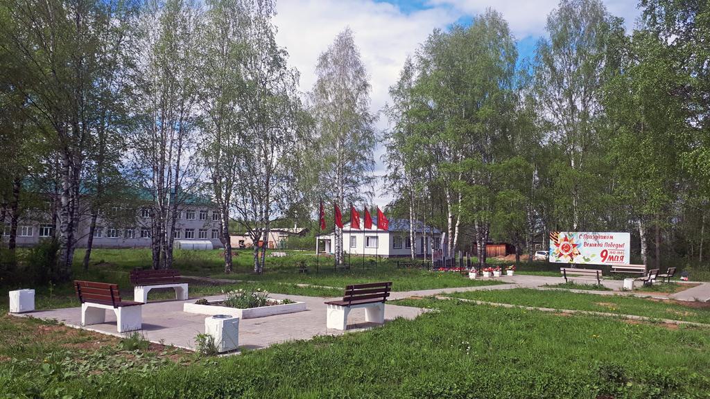 Благоустройство сквера вокруг памятника участникамВОВ— важный проект