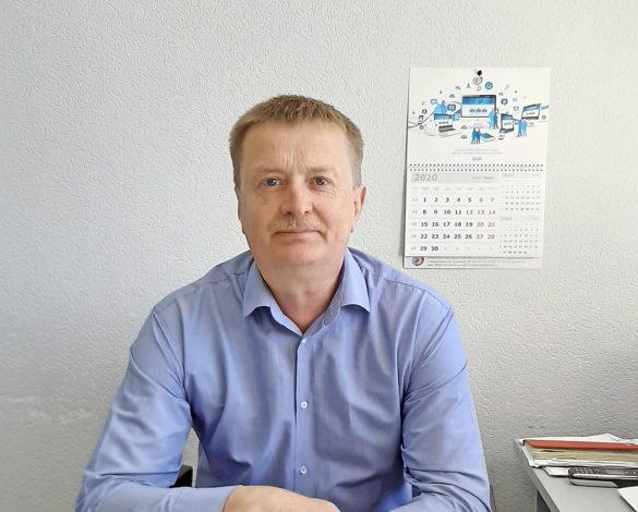 Сергей Воронцов, руководитель Березниковского почтамта