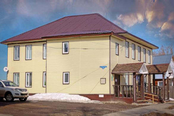 Реконструированное здание ПФР