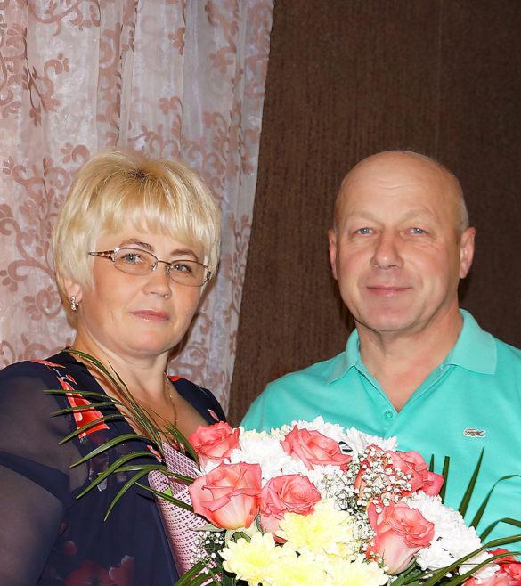 Елена и Виктор Овчарук