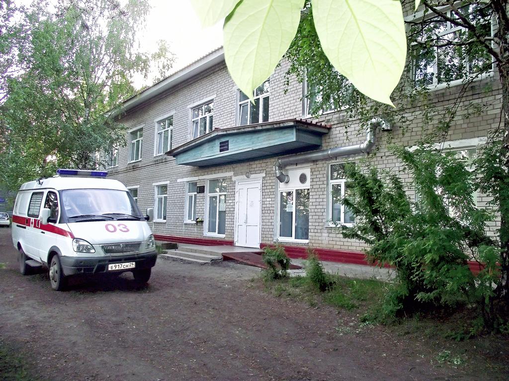 В основном здании больницы проведен капитальный ремонт