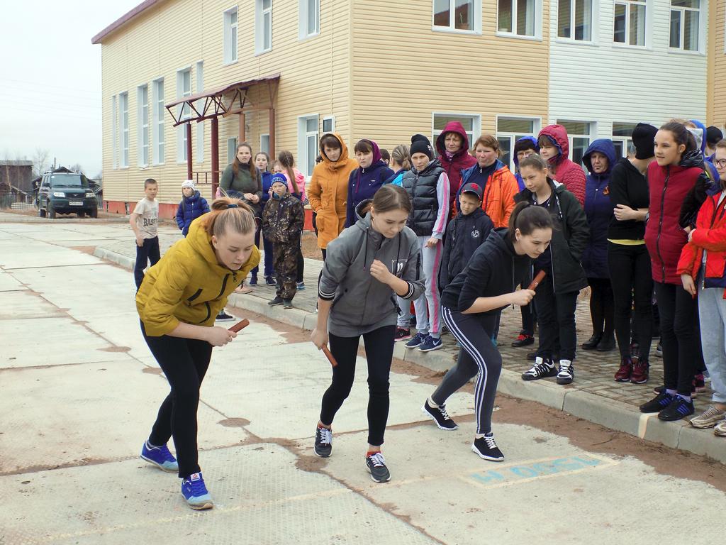 Легкоатлетическая эстафета, посвященная Победе вВеликой Отечественной войне,— традиция села