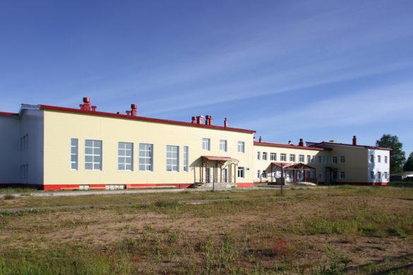 Новая школа открылась в Согре в 2014 году
